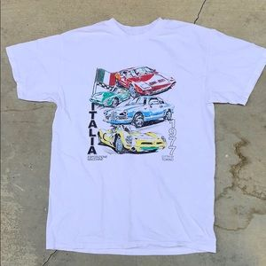 NWD Brandy Melville Retro Racer T-Shirt